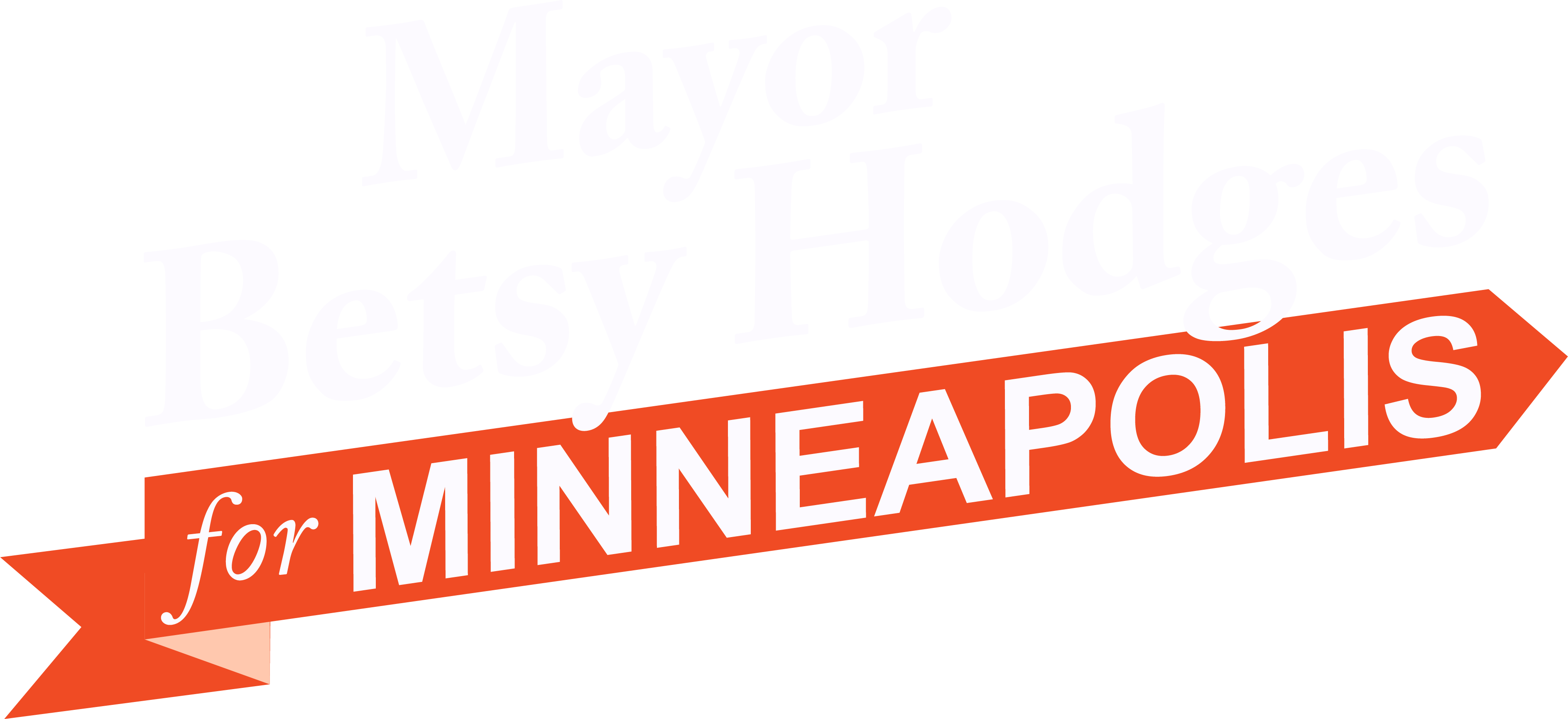 Mayor Betsy Hodges for Minneapolis